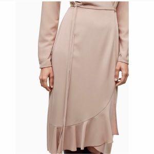 Aritzia Dresses - NWT Aritzia Wilfred wrap dress size XXS